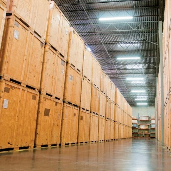 Choose 5 star movers NYC storage warehouse