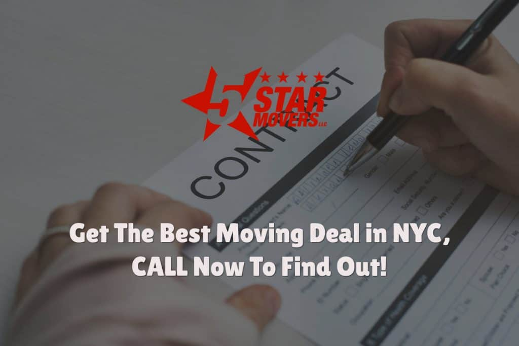 Affordable New York, NYC moving with storage 3