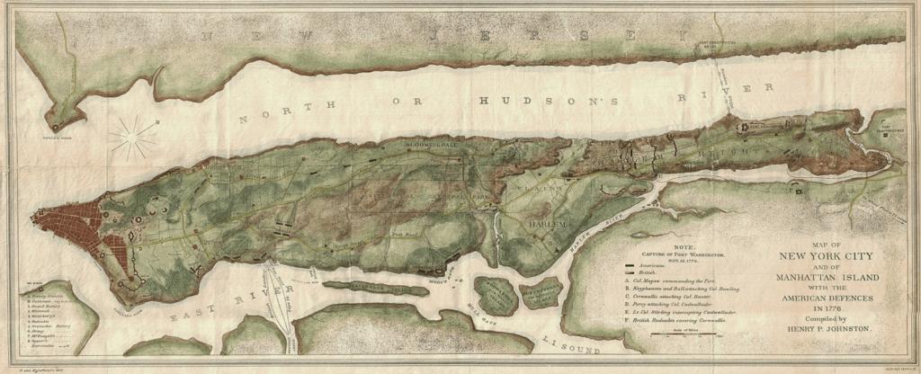 Manhattan Island 400 Years Ago