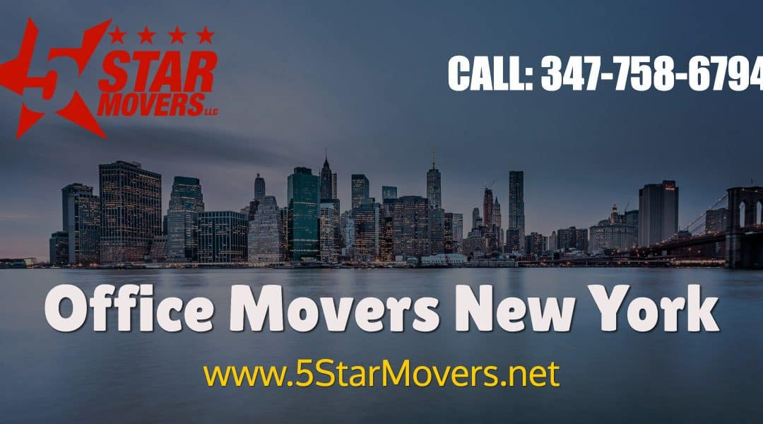 OFFICE MOVERS NYC