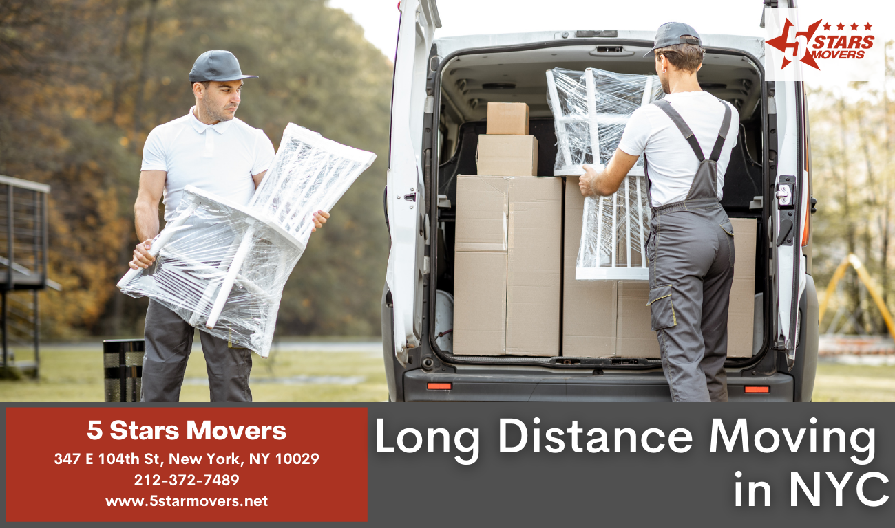 Long Distance Moving in NYC